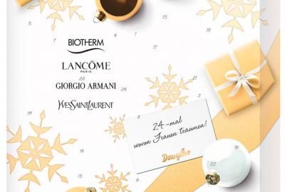 Douglas YSL Lancome Biotherm Damen Adventskalender