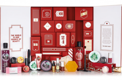 The Bodyshop Adventskalender 2015 Premium Luxury Red