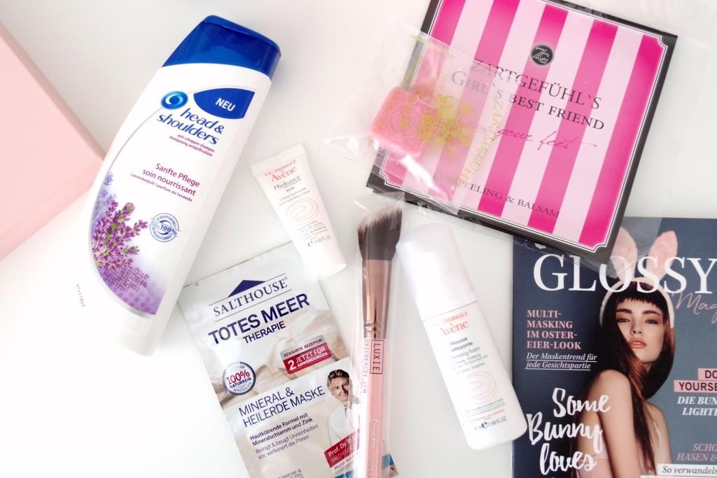 Glossybox März 2016 Some Bunny Loves You Luxie NOTE Avene Zartgefühl-003