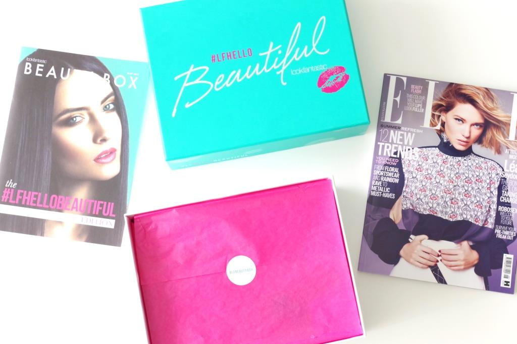Lookfantastic Box Mai 2016 #LFBeautybox #LFhellobeautiful Beauty Box