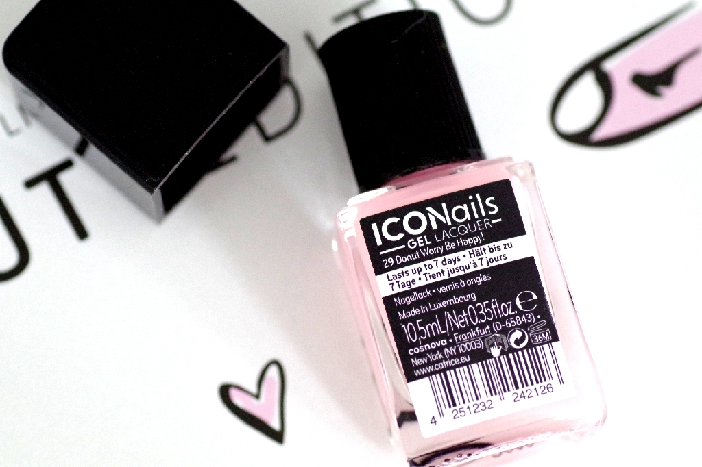 Catrice | Nagellack ICONails Gel Lacquer | Donut Worry Be Happy!