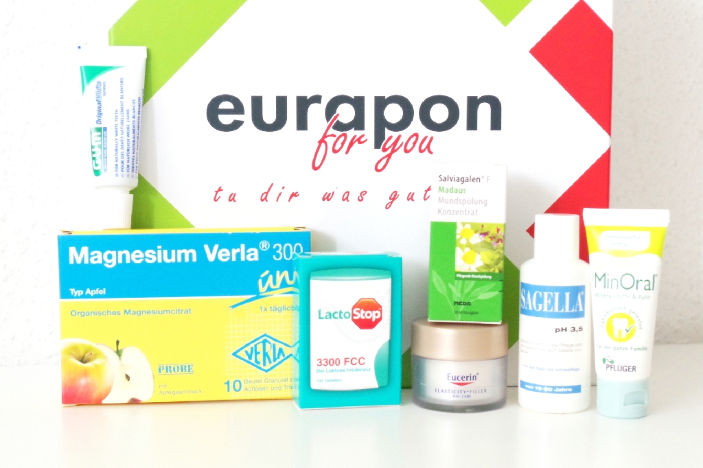 Eurapon for you Box Herbstedition Inhalt Unboxing